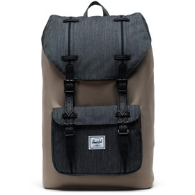 Herschel Little America Mid-Volume Backpack 17l, timberwolf/black denim/black